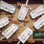 Walnut, Honey, Orange Blossom, and Date Greek Yogurt Pops