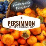 Persimmon Recipe Round Up