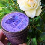 Wild Blueberry and Rose Water Smoothie