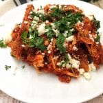 Don't Throw Away Old Corn Tortillas! Make Chilaquiles!