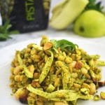 Kamut and White Bean Salad with Pistachio Green Goddess Dressing